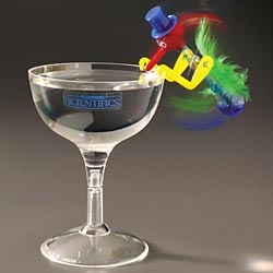 Drinking Bird & Glass – shows heat transfer | Edmund Scientific: The original is back.
