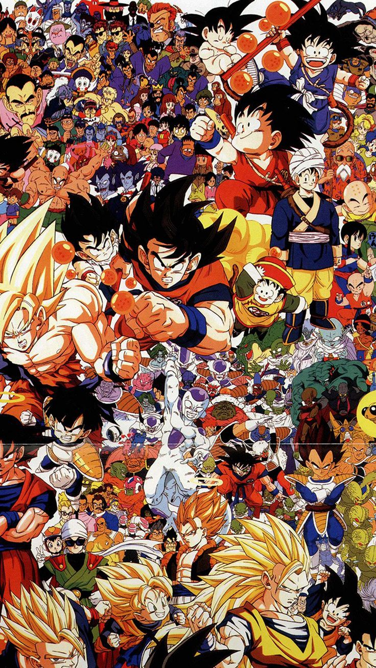 Dragonball Full Art Illust Game Anime iPhone 6 wallpaper