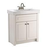 """$349 30""""    For Living Davenport 30-in White Bathroom ..."""