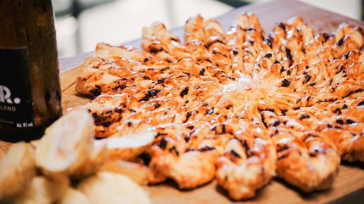Potato wedges & bladerdeegster met chorizo   VTM Koken