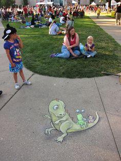 Ann Arbor Summer Festival Installations, 2012-2013 | David Zinn