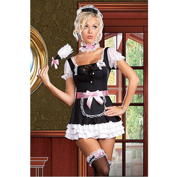 Cute Image Maid Outfit Uniform Servant Cosplay Costume via Goods from Michal. Click on the image to see more!
