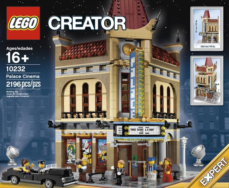 LEGO Creator Palace Cinema. Marie is going to get this soon!! (Not from me, btw)...