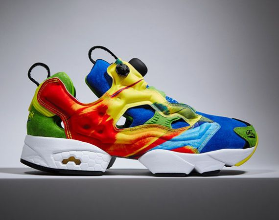 The Reebok Insta Pump Fury Shoes Were Inspired by Macaws #runningshoes trendhunter.com
