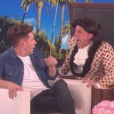 Ellen DeGeneres Gets Harry Styles to Scare the Living Daylights Out of Niall Horan