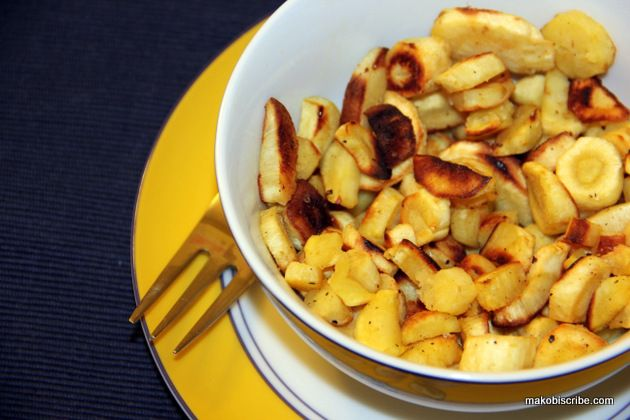 Roasted Parsnips | Recipe