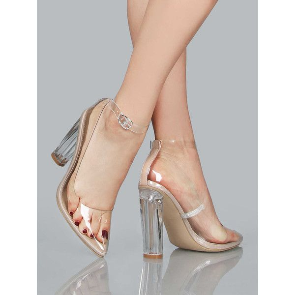 Best 25  Clear high heels ideas on Pinterest | Clear heels, Clear ...