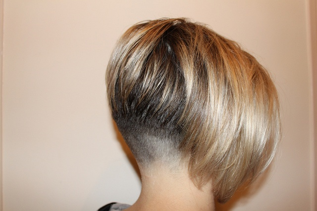 inverted bob hair style faded nape clippered bob angled inverted 2413