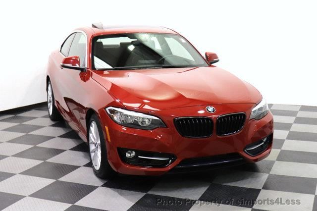 2016 Bmw 2 Series Certified 228i Xdrive Sport Package Awd Camera