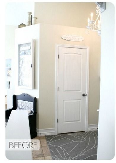 How To: Turn Your Front Closet Into A U0027Mudroomu0027
