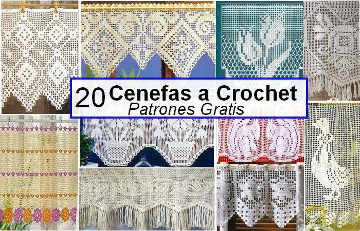 Cenefas a Crochet Patrones Gratis