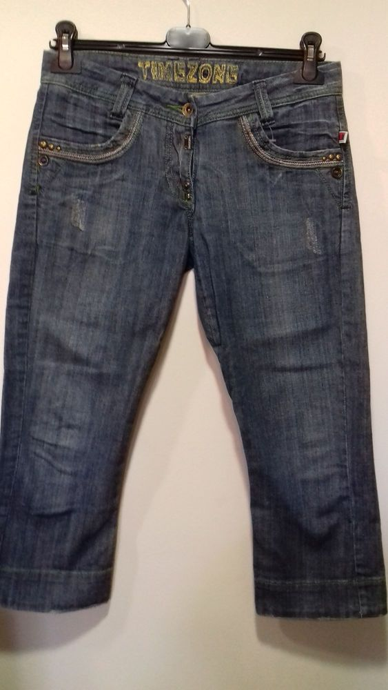 TIMEZONE  Women's  Capri Jeans Size 27 ***EXCELLENT CONDITION*** #TIMEZONE #CapriCropped