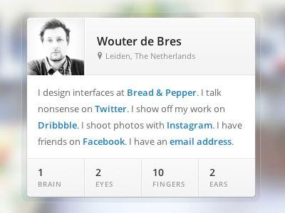 Dribbble-profile