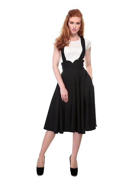 Mary swing skirt, Sort