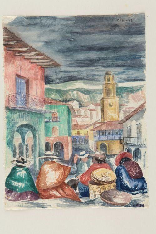 Boceto de Composición (1942) Antonio Berni