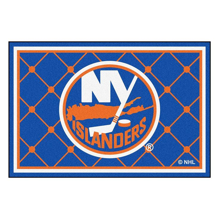 New York Islanders NHL 5x8 Rug (60x92)