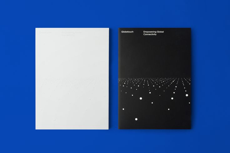 Brand identity and print communication for global mobile communications platform Globetouch by graphic designs studio Bunch