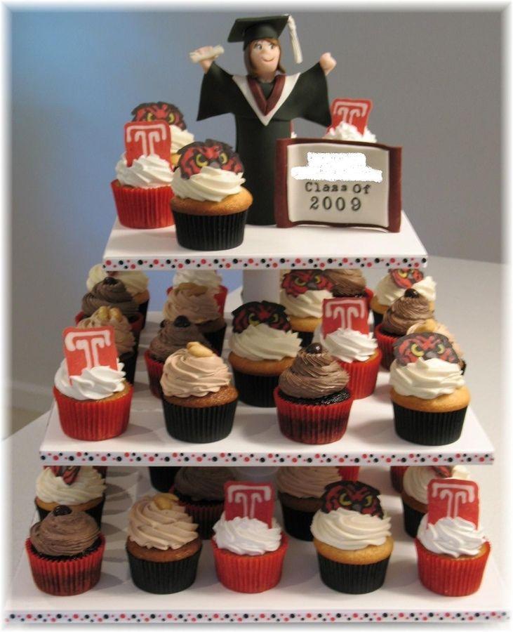Graduation Cupcakes Towers Temple University Graduation