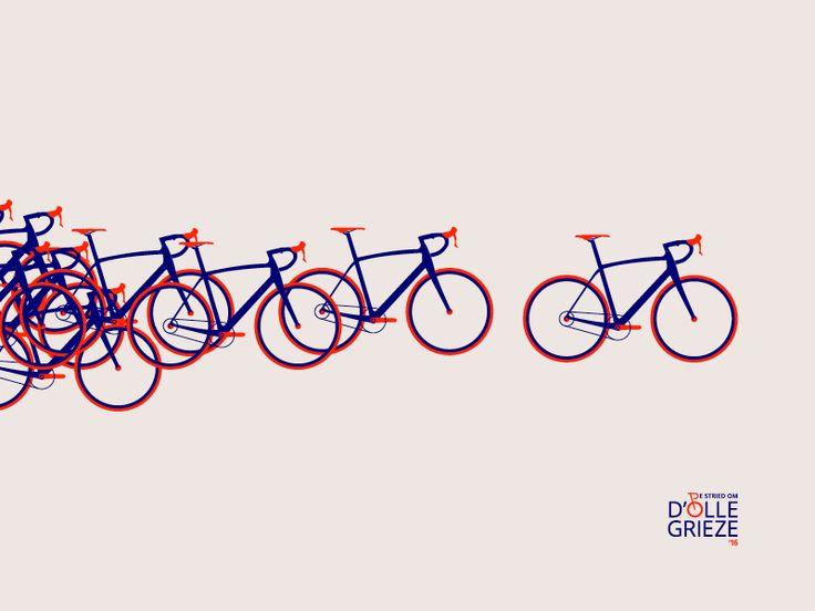 Branding cycling event by Mark & Marten