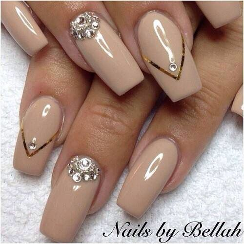 Nail Designs For Tan Skin : Best ideas about tan nails on gold tip - Nail - Tan Nail Designs Graham Reid