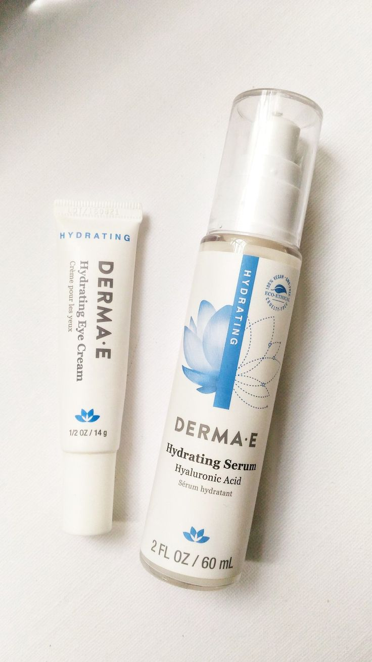 Hyaluronic Acid has been a star ingredient in many skincare products as of  late, and naturally I was so pleased to find Derma E offering a whole  lineup of products with HA. | #beauty #skincare #review #beautyblogger #beautyguru #dermae
