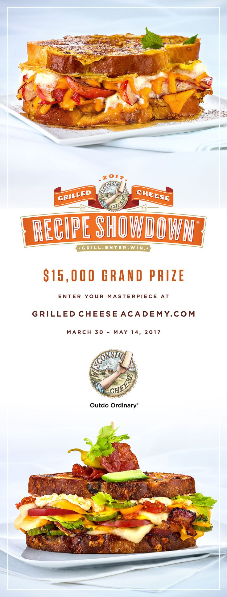 Enter to win at GrilledCheeseAcademy.com!