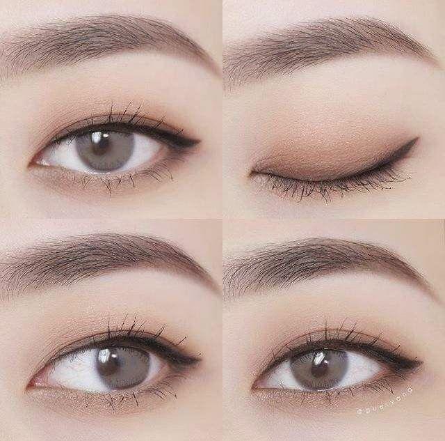 Tipps für koreanisches Make-up: Matte Lippenstifte können dazu neigen, Linien