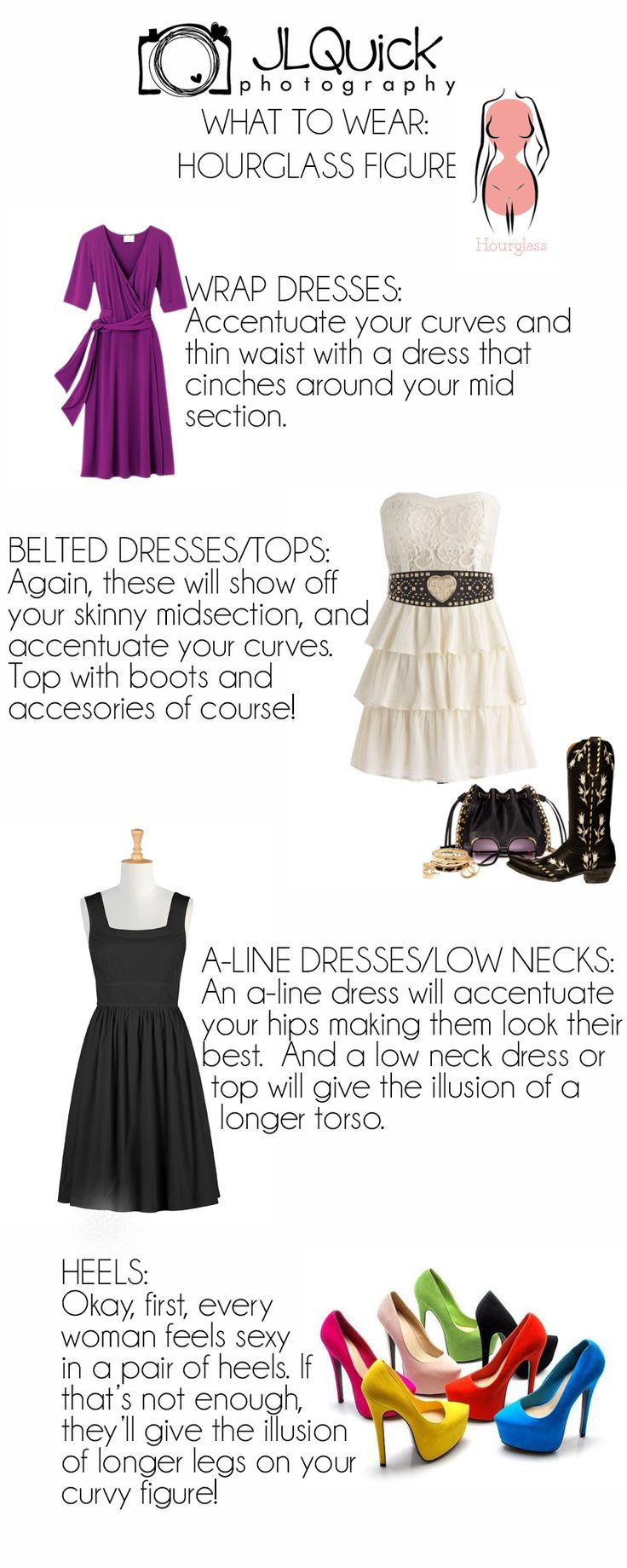 What To Wear For An Hourglass Figure by JLQuick Photography {Delaware Photographer}