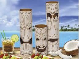 Resultado de imagem para centro de mesa hawaiano