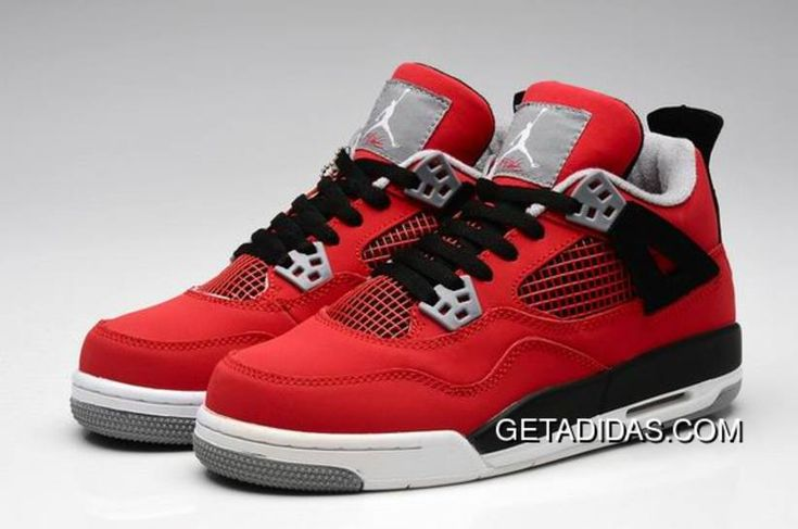 http://www.getadidas.com/women-red-black-grey-jordan-4-topdeals.html WOMEN RED BLACK GREY JORDAN 4 TOPDEALS Only $78.29 , Free Shipping!