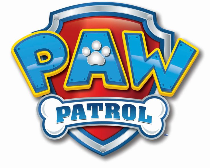 Paw Patrol Wall Decal, Paw Patrol Logo, Removable Wall Sticker, Vinyl Wall Graphics, Paw Patrol, Infinite Graphics, Kid's Bedroom Decals by 1InfiniteGraphics on Etsy