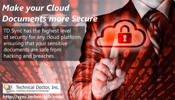 Make Your cloud document more secure ► http://sync.technicaldr.com