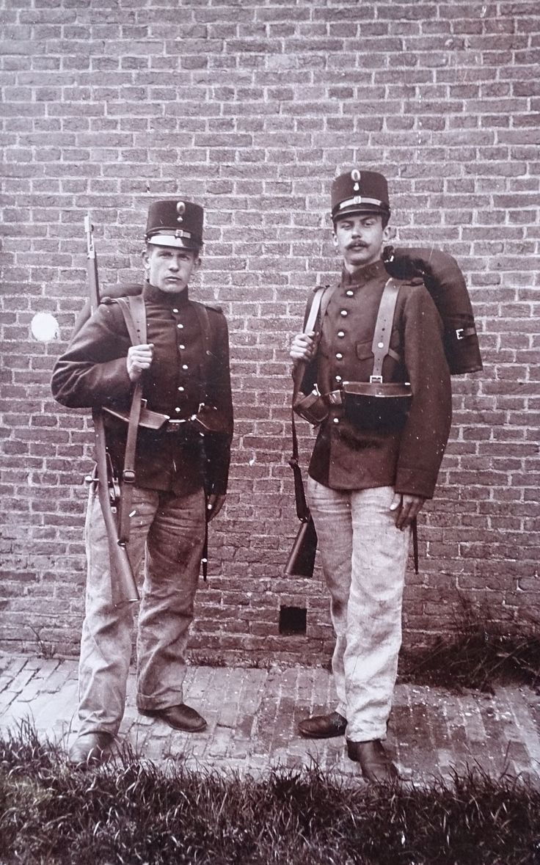 Military service Regiment Infantry (Den Helder 1907)