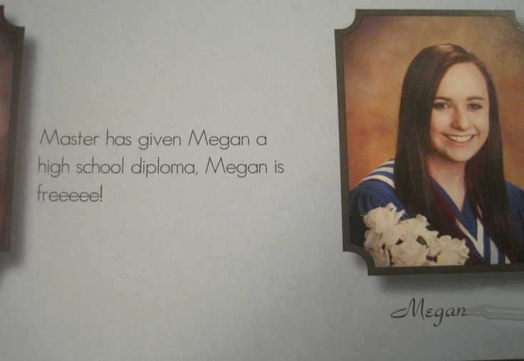 Best yearbook quote.