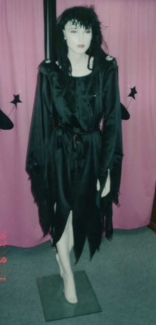 Witch size 10 -16 Costume HIRE enquiries can be directed to sales@costumesnthings.com.au