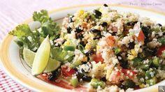 Salade de quinoa et de haricots noirs: ingrédients, préparation, trucs, information nutritionnelle