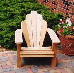 Adirondack Chair Plans - The Tiffany Breeze, by Woodworking Den