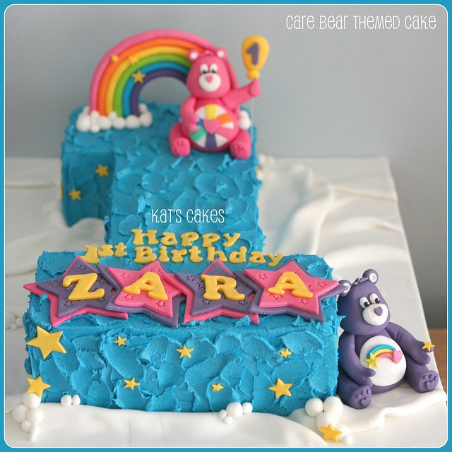 A Cupcake Themed 1st Birthday Party With Paisley And Polka: 1000+ Images About Care Bear Theme On Pinterest