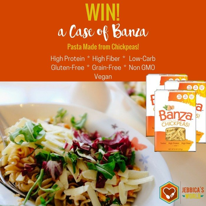 Banza Chickpea Pasta Review and Giveaway