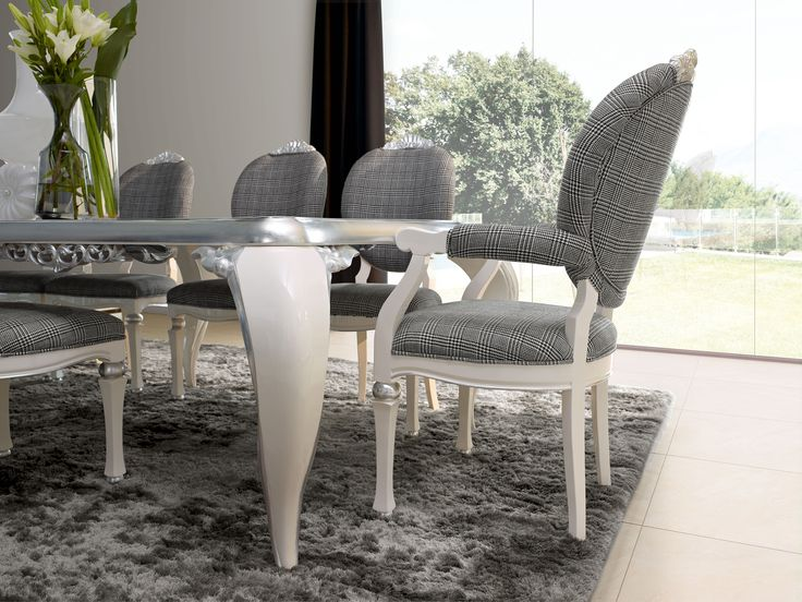 Capri dining table and chair detail  Jetclass   Real Furniture luxury furniture and Interior Design