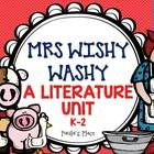 Mrs Wishy Washy – A Literature Unit 15 tasks (40 pages) - USA CCSS and Australian Curriculum aligned Matching animal to name (noun) Missing words ...
