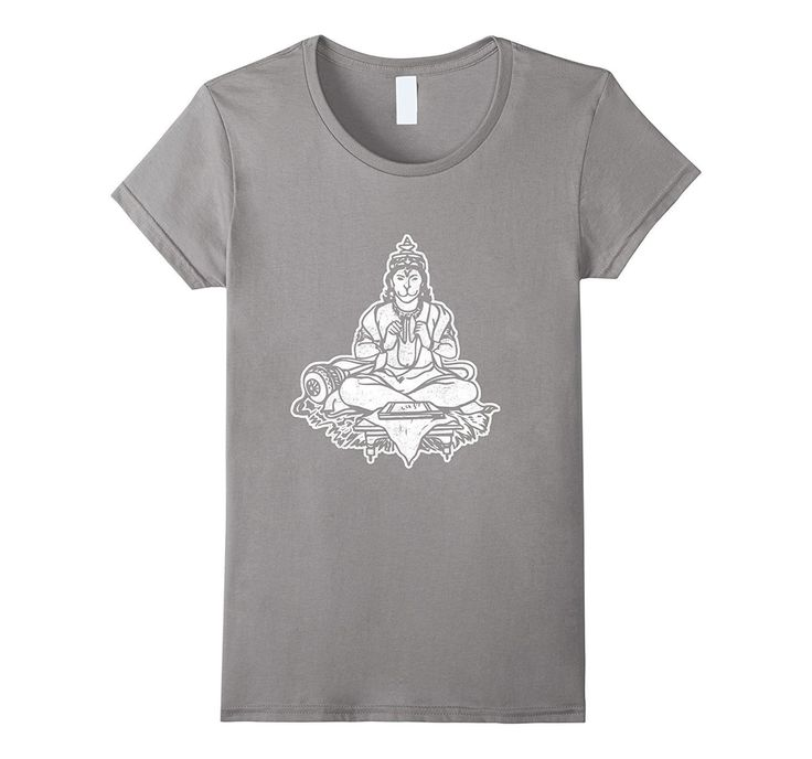 Lord Hanuman The Monkey God T-Shirt Yoga Hindu Sri Rama