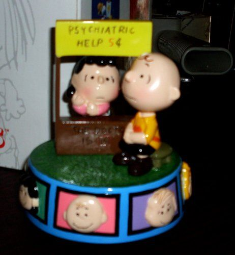Vintage Peanuts Lucy and Charlie Brown MOOD BOOTH Musical - Youve Got a Friend @ niftywarehouse.com #NiftyWarehouse #Peanuts #CharlieBrown #Comics #Gifts #Products