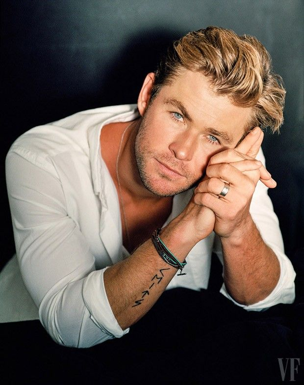 Chris Hemsworth for Vanity Fair by Bruce Weber