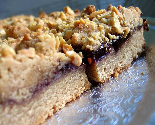 Peanut Butter and Jelly Bars | A Balanced Diet is a Cookie in Each Ha ...