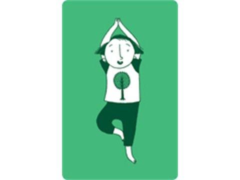 Descargable tarjetas yoga niños  Yoga per nens