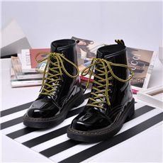 Women Boots Lace Up Martin Boots Women Ankle Fur Boots Brand Winter Women Shoes мартин ботинки Martin botas martin bottes مارتن جزمة