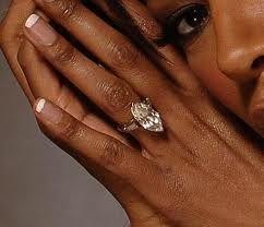 Tracy Bingham Engagement Ring