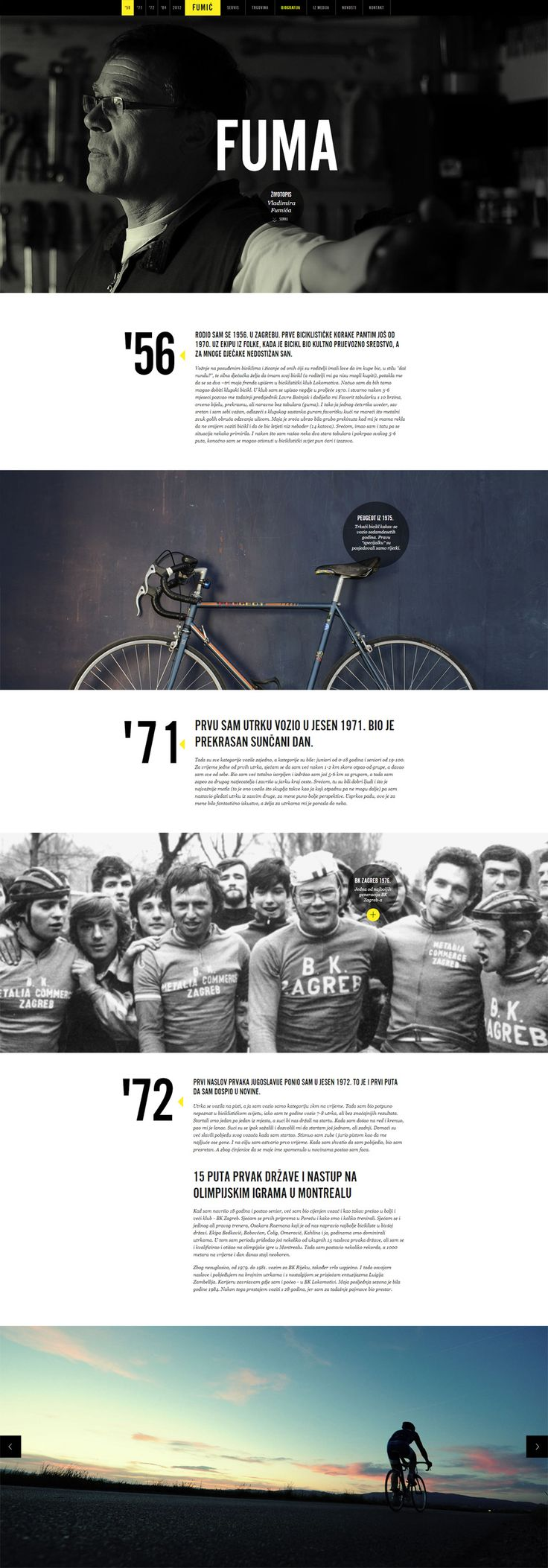 Case Study: Creating a Website for a Cycling Legend