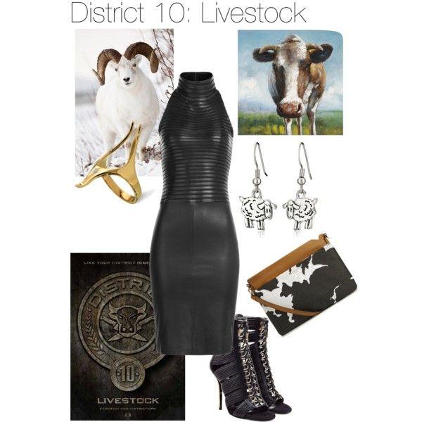 District 10 by senorkaleb on Polyvore featuring polyvore, fashion, style, Jitrois, Balmain, Isaac Mizrahi and Arosha Luigi Taglia